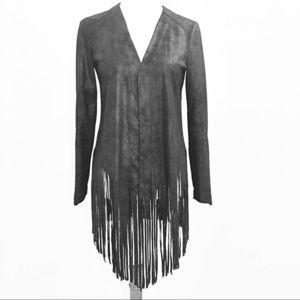 SW3 Bespoke Boho-Style Fringed Jacket!